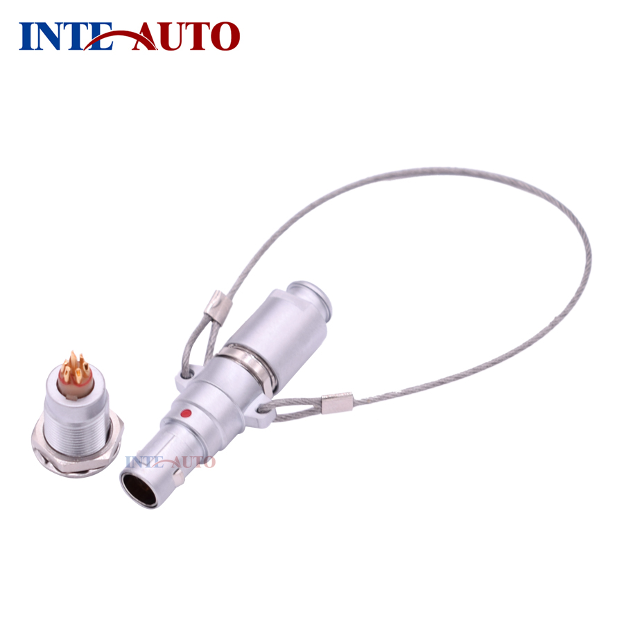 Best M9 Lemo similar Connector,Metal electrical plug with lanyard release,Fixed socket,receptacle,FNG EGG,2,3,4,5,6,7,9 Pins