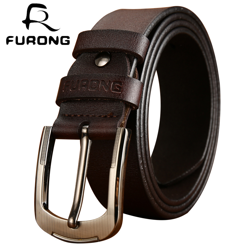 2018 luxury strap male belts top selling cow genuine leather two colors designer belts for jeans leisure style male cow leather
