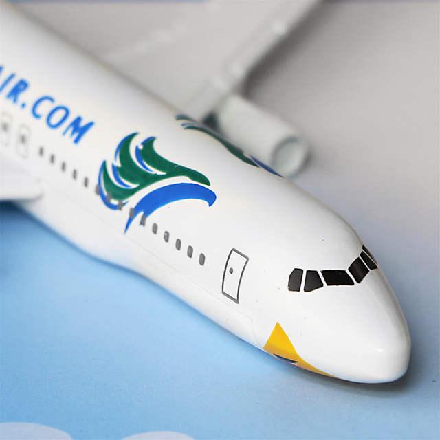 Online Shop Philippines Cebu Pacific Air A320 16cm Airplane Child Birthday Gift Plane Models Toys Free Shipwping Christmas