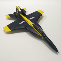 RC EDF jet plane radio control aircraft toy mini F18 50mm