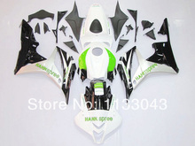 100 Fit Injection Green white black Fairing kits for HONDA CBR600RR 07 08 F5 2007 2008
