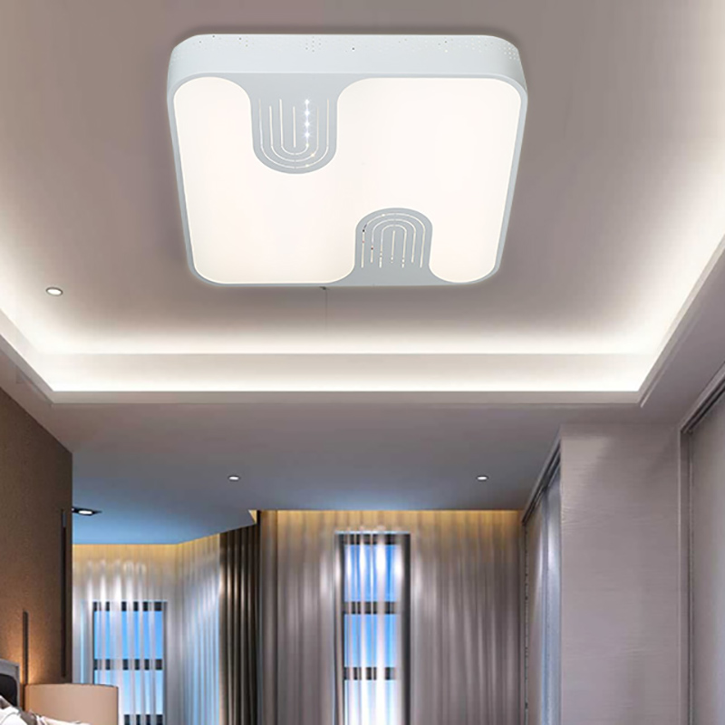 IPROLED 50W 2.4G RF remote control or wifi control  CCT2800k-6500k  and brightness  surface mounted led ceiling light