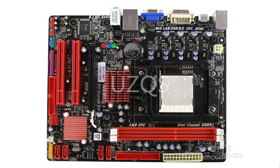 D'origine carte mère pour Biostar A880G + 6.x Socket AM3 DDR3 8 GB USB 2.0 880G Bureau motherborad Livraison gratuite
