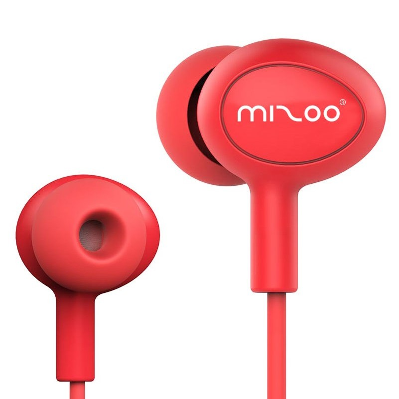 Mizoo Professional Earphones Waterproof Sport Earphone with Heavy Bass Sound HiFi Portable Headset With Mic For Mobilephone MP3