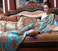 100% натуральный шелк жоржет шарф, высокое качество чистого шелка длинный шарф женщин, 100% шелковые шарфы, чистого шелка длинные шали