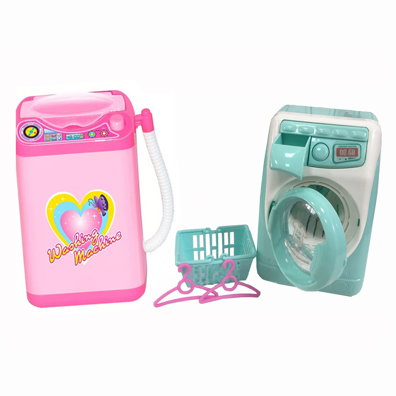 Kids Pretend Play Mini Simulation Toy Home ApplianceToy Washing Machine Toys