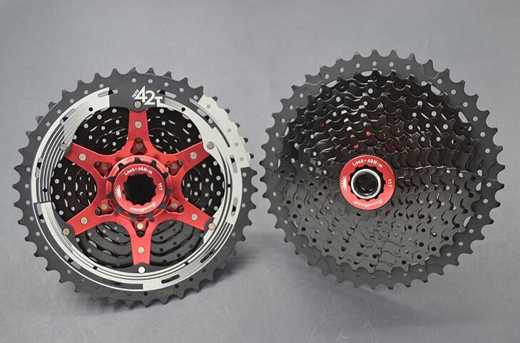sunrace CSMS3 10 speed 11-40//42T mtb bike freewheel cassette wide ratio cassette