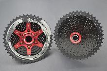 цена на SunRace red CSMX3 11-42T 10 Speed MTB Bike Cassette Freewheel Wide Ratio bicycle mtb freewheel Cassette 11-42T free shipping