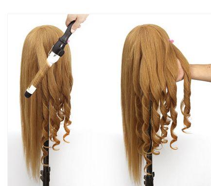 85% naturel cheveux coiffure tête mannequin tête avec des cheveux perruque tête de mannequin coiffure mannequin tête