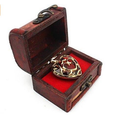 Подвеска и брелок в форме сердца Легенда о Зельде в подарочной коробке 3