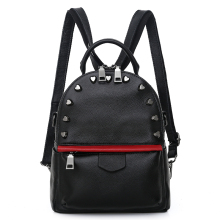 Fashion Genuine Leather Backpack Women Crossbody Bag Female Zipper Backpacks for Teenagers Girls Shoulder School Bags back pack цена