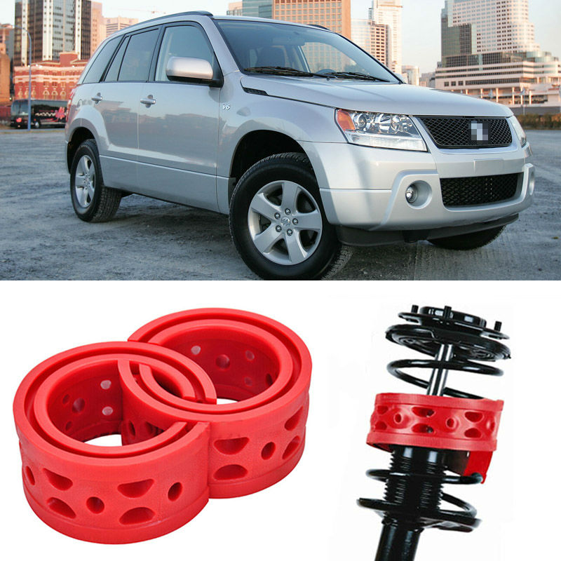 US $38 24 15% OFF|2pcs Size A Front Shock Suspension Cushion Buffer Spring  Bumper For Suzuki Grand Vitara-in Shock Absorber Parts from Automobiles &