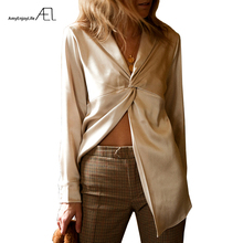 AEL Women Blouses Shirts Sexy Cross Type