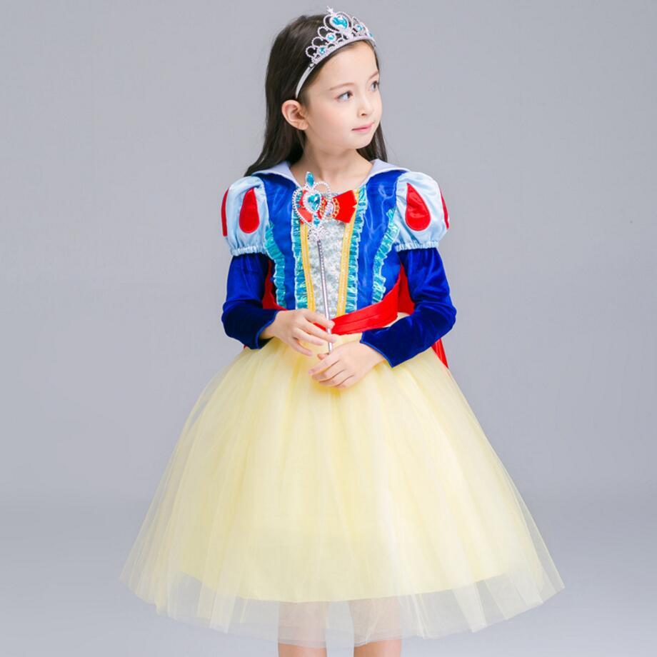 Kinder Kleidung Europäischen und Amerikanischen Schneewittchen Kleid ...