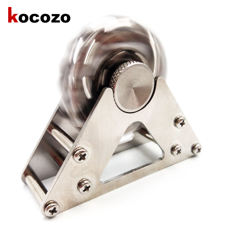 Fidget Spinner Full Stainless Steel For Autism ADHD Learning EDC Toy Stable Long Time Adult Nostalgia Ferris wheel Spinner Toy 3 colors hot sale product hand spinner voor stainless steel fidget spinner for autisme and adhd anti stress adhd hand spinner