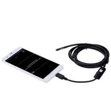 KKmoon цифровой USB эндоскопа инспекционной Камера мини Лупа микроскоп endoscopio Регулируемый Яркость для Android телефонов ПК