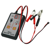 EM276 Fuel System Auto 4 Pulse Modes Injector Tester LED Display Powerful Portable Pressure Universal Repair Tool Professional