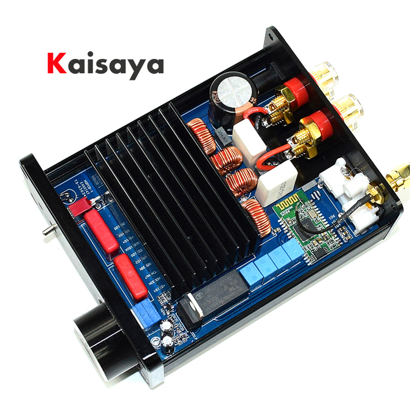 100W 100W ISSC 2 0 Bluetooth Class D TDA7498 HIFI stereo audio Digital Amplifier in case
