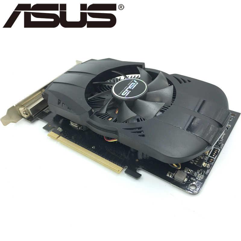 بطاقة الفيديو ASUS HD 7770 1GB 128Bit GDDR5 بطاقات الرسومات ل ATI Radeon HD7770 VGA بطاقات تستخدم ما يعادل GTX 750 GTX650 Ti
