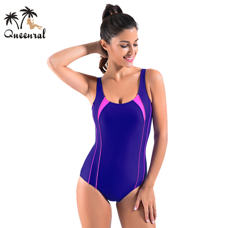Queenral Swimwear One Piece Underwear Female Women 2016