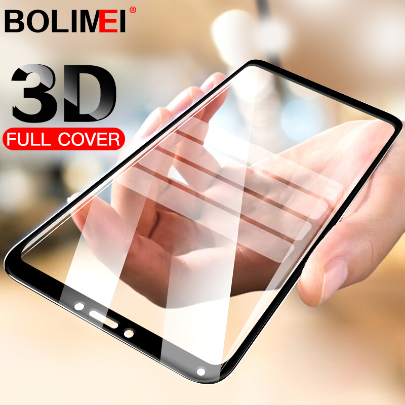 3D Full Cover Glass On The For Xiaomi Redmi 6A 6 Pro Screen Protector Protective Film For Xiaomi Redmi Note 4 4x 5A Glass(China)