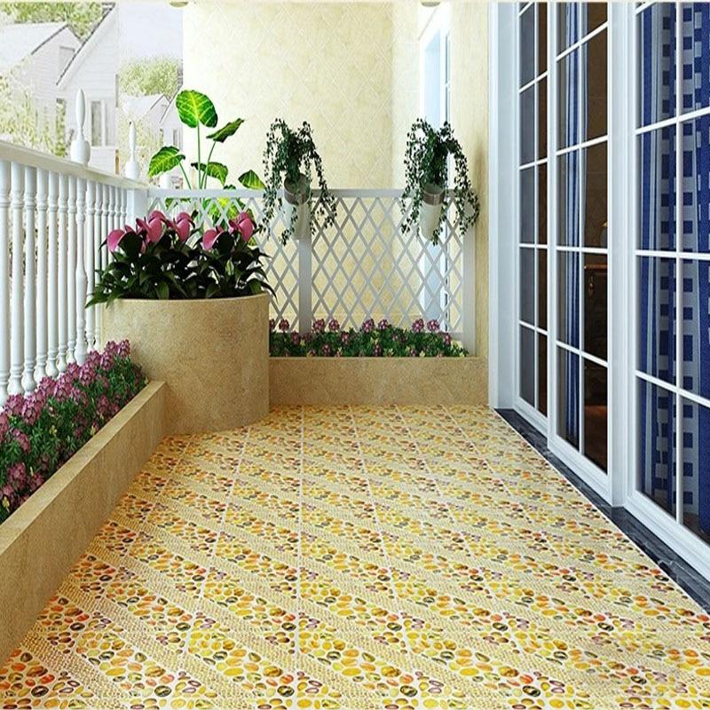 300x300mm Rustic Ceramic Polished Tiles Balcony Tiles Non slip ...