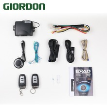 With Antenna Car alarm Keyless entry system PKE auto with start Central locking Start stop