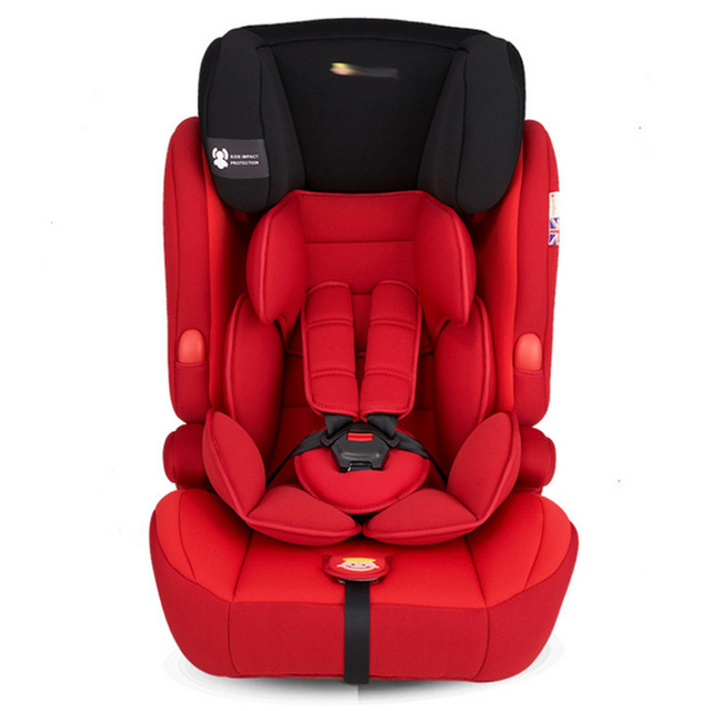 9M-12Y Toddler Baby High Quality Safety Chair Seat Children Five-point Harness Auto Booster Seat with Belt Kid Thicken Protector
