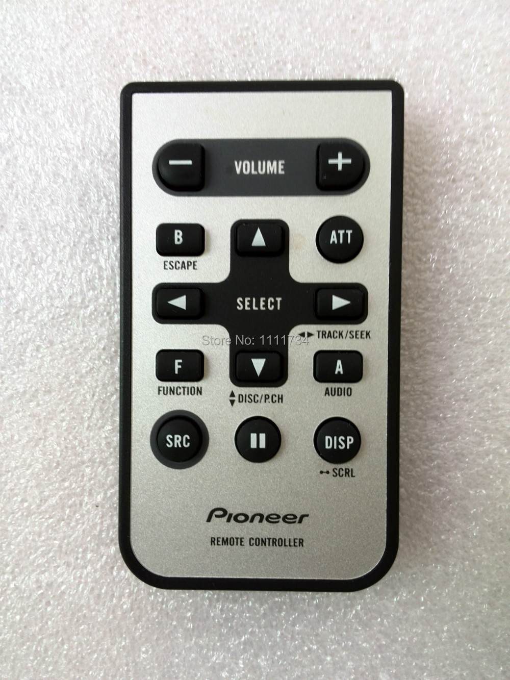 free shipping 100% original remote control cxc5719 for pioneer car car stereo remote control app at Car Stereo Remote Control