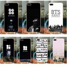 0b3c7eca183 Soft TPU mejor para iPhone X 4 4S 5 5S 5C SE 6 6 S 7 8 más LG g3 Mini G4 G5  G6 K4 K7 K8 K10 V10 V20 espíritu Bts Bangtan Boys
