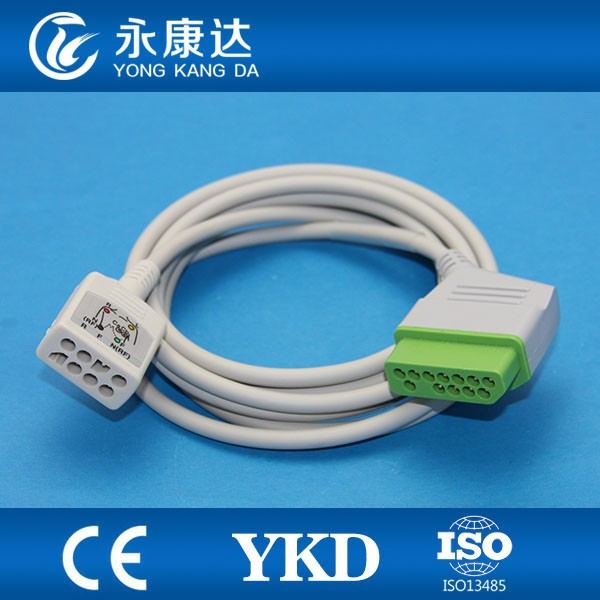 JC-906P Nihon kohden ecg trunk cable 36 leads for BR-903PBR-906P