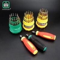 送料無料 31 1 磁気ドライバーセット精密ハンドルで携帯電話の修理キットツール 7001 電話ホーム