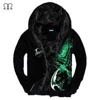 Hoodies Men LOL 3D Brand Clothing Men Casual Sportswear Man Hoody Zipper Sweatshirt Men Five Colors