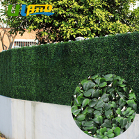 Artificial Boxwood Panels 12pcs 50cm 50cm Plastic Garden Fence Artificial Fence Greenery Wall Panels For Garden