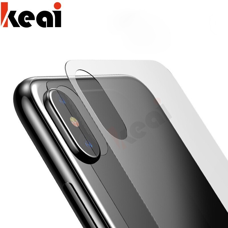 Galleria fotografica 9H Full Cover Ultra Thin Screen Protector For iPhone X XS MAX Tempered Glass On The Back Glass For iPhone XR XS Plus X Back Film