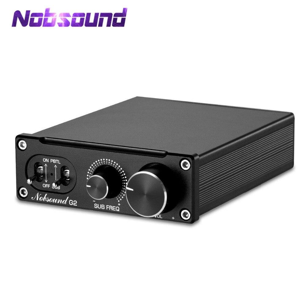 2019 Nobsound Salut-fi G2 Subwoofer/Full-Fréquence Mono Canal Numérique Amplificateur de Puissance 100 W