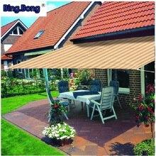 Защита от солнца сетка HDPE Общая Сеть сетка для двора/балкона/дверей и окон затенение УФ Защита дышащий тент