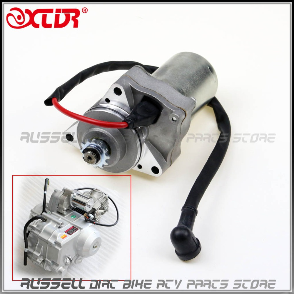 Automobiles & Motorcycles Atv Parts & Accessories Supply Start Starter Motor 50cc 70cc 90cc 110cc 125cc Atv Quad Bike Top Engine Position