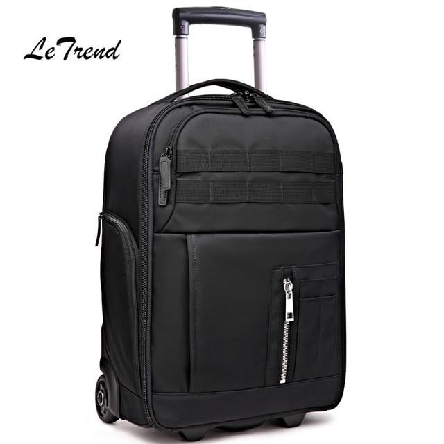 cabina letrend multi funzione borsa da viaggio valigia ruote