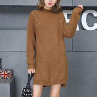 In 5604 To Film A New Long Round Collar Turtleneck Sweater 56 6 Row 4 On