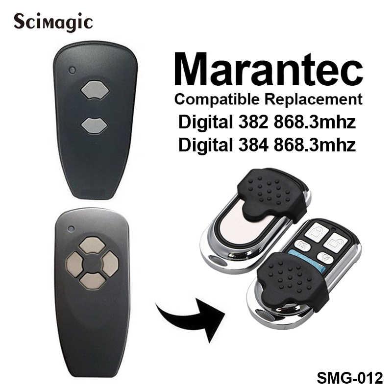 1 piezas clon Marantec para 868 MHz puerta de garaje puerta llave de control remoto fob de la puerta teléfono clave duplicador de garaje de control inalámbrico relé de