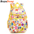 RoyaDong Children School Bags For Girls Kids Fashion Bags Printing Backpack Boy Stars Rainbow  Mochila Escolar Sac A Dos Enfant