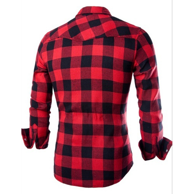 New Spring Autumn Style Men's Long Sleeve Shirt Casual  1