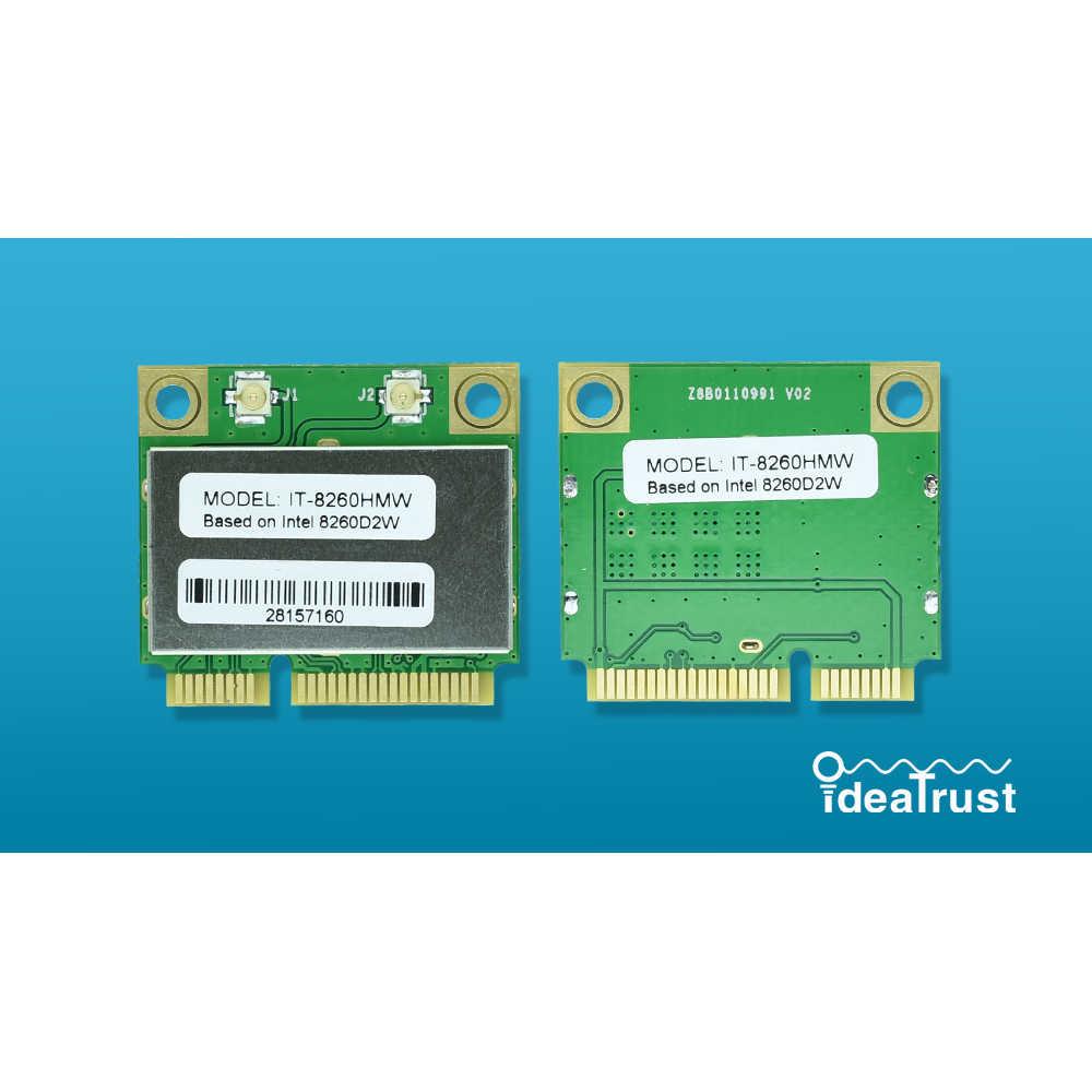IT-8260HMW intel 8260HMW 8260 Intel8260 8260 AC 2 4&5G Bluetooth 4 2  MiniPCIe WiFi Network Card PK 7260HMW 7260AC
