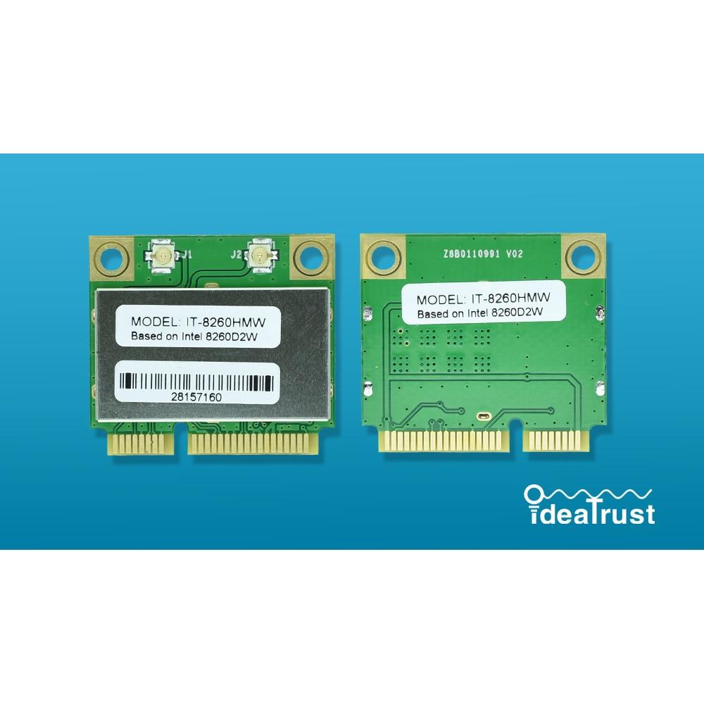 IT-8260HMW intel 8260HMW 8260 Intel8260 8260 AC 2,4 & 5G Bluetooth 4,2 MiniPCIe Wifi-netzwerkkarte PK 7260HMW 7260AC