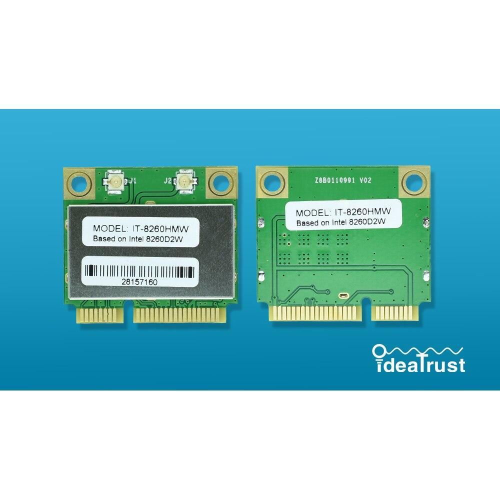 IT-8260HMW intel 8260hmw 8260 intel8260 8260 ac 2.4 & 5g bluetooth 4.2 minipcie wifi placa de rede pk 7260hmw 7260ac