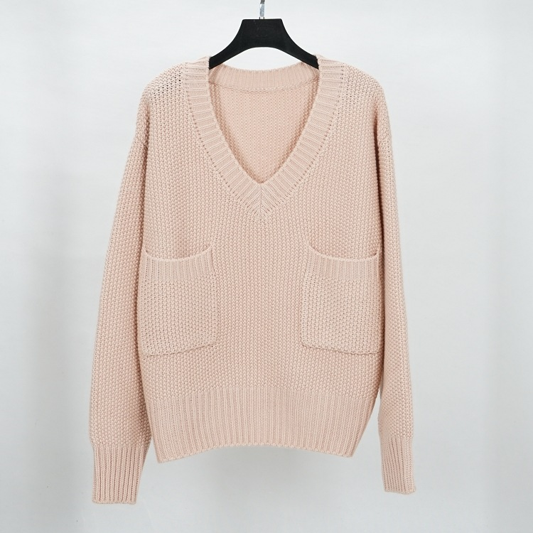 oversized sweater women thick sweater and pullover jumper wool knitted sweater beige knitwear autumn winter 2018 new Christmas