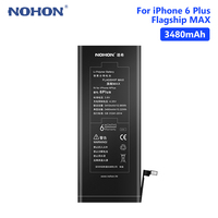 NOHON 3480mAh Lithium Li ion Battery Replacement Mobile Phone Battery For Apple IPhone 6 Plus 6Plus IPhone6 Plus 6+ Cellphone