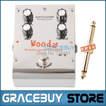 Biyang ToneFancier Series AC-8 Woody Acoustic Simulator Pedal Guitar Effect Pedal True Bypass