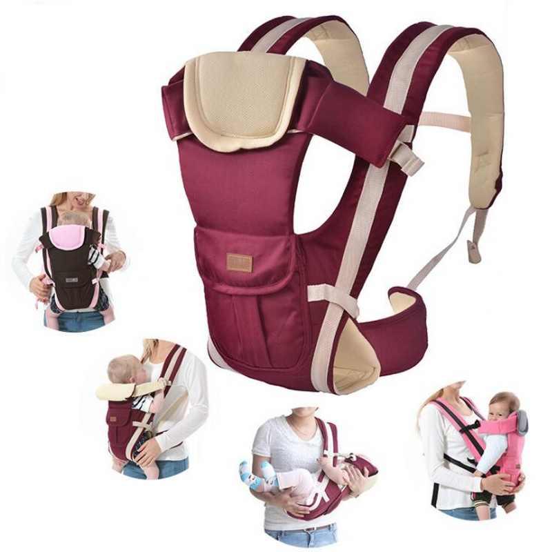 Abrigo para bebés de 3 a 24 meses Portabebés frontal respirable 4 - Actividad y equipamiento para niños
